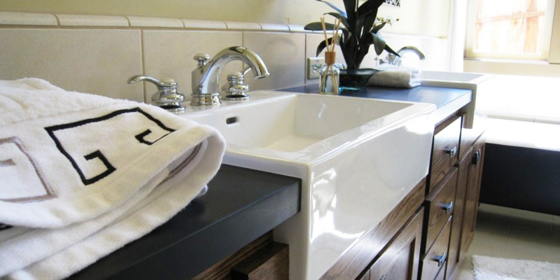 PaperStone Bathroom Vanity