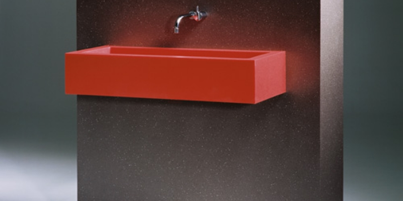 Durat Sink, Color 450, and Wall