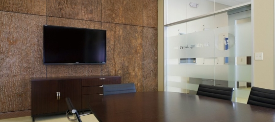 Conference Room at Commercial Flooring Solutions Office