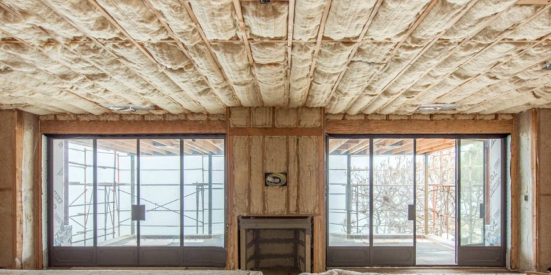 Havelock Wool Batt Insulation, Residential Ceiling