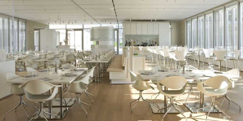 Durat Tabletops at TerZo Piano Restaurant at The Art Institute of Chicago