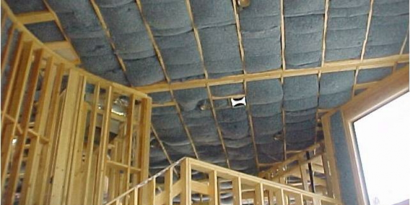 UltraTouch Residential Ceiling Installation