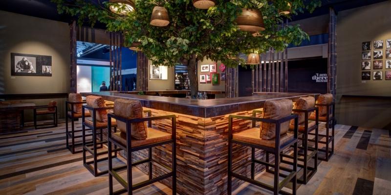 Wonderwall Studios Reclaimed Wood Paneling Caragreen
