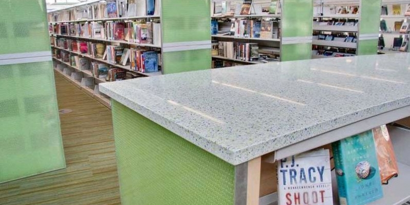 Denim Moss - Library Countertops