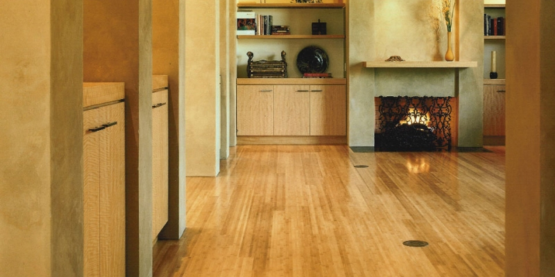 Plyboo Bamboo Flooring in Natural Flat Grain