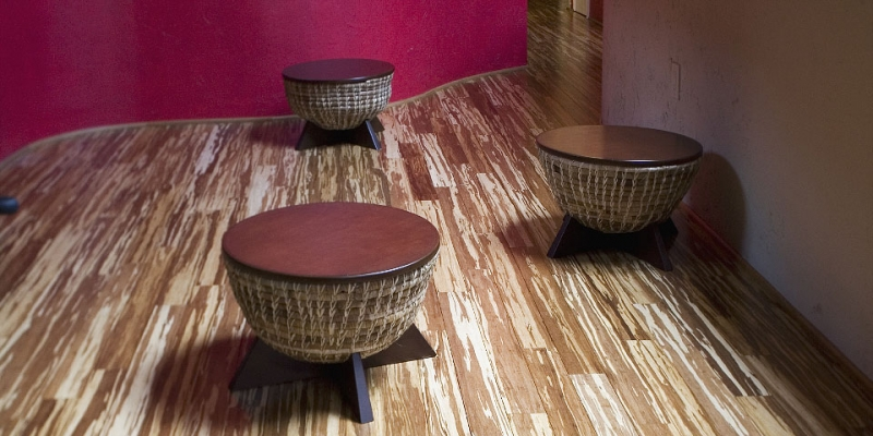 Plyboo Bamboo Strand Flooring in Neopolitan