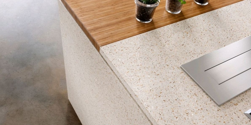 White Pearl - Kitchen Countertops