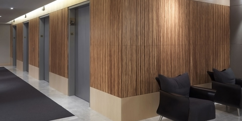Plyboo Wall Cladding in Neopolitan Strand