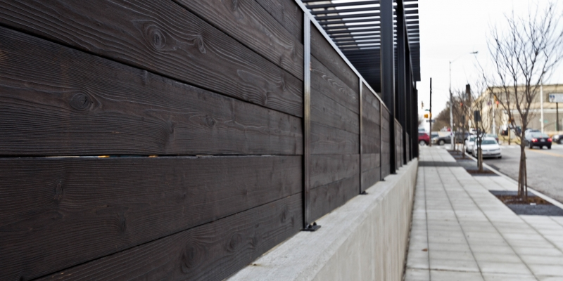 reSAWN Shou Sugi Ban Exterior Cladding in Color Monogatari