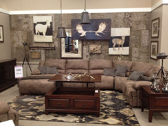 bark house wall at ashley furniture bark furniture