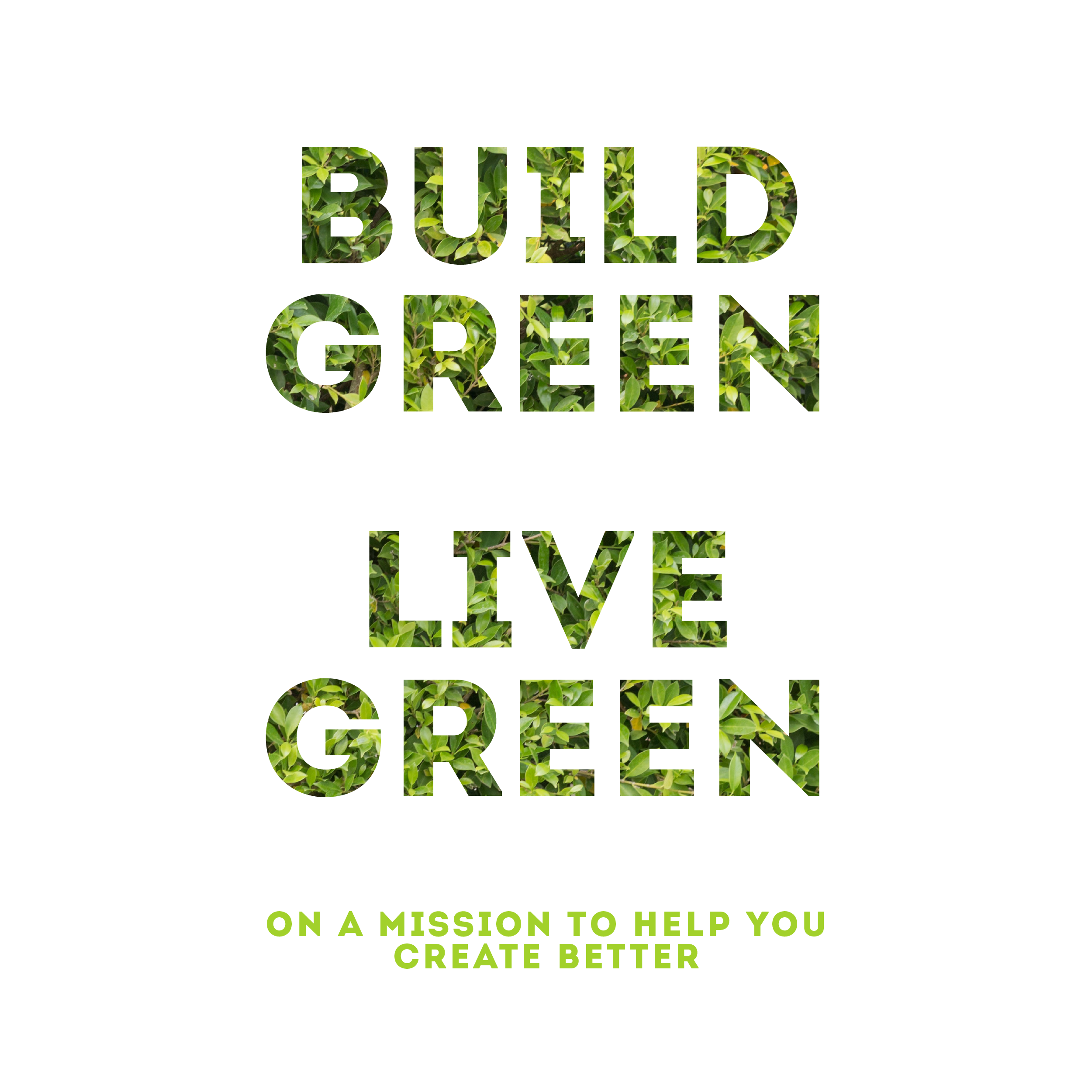 Build Green Live Green Podcast