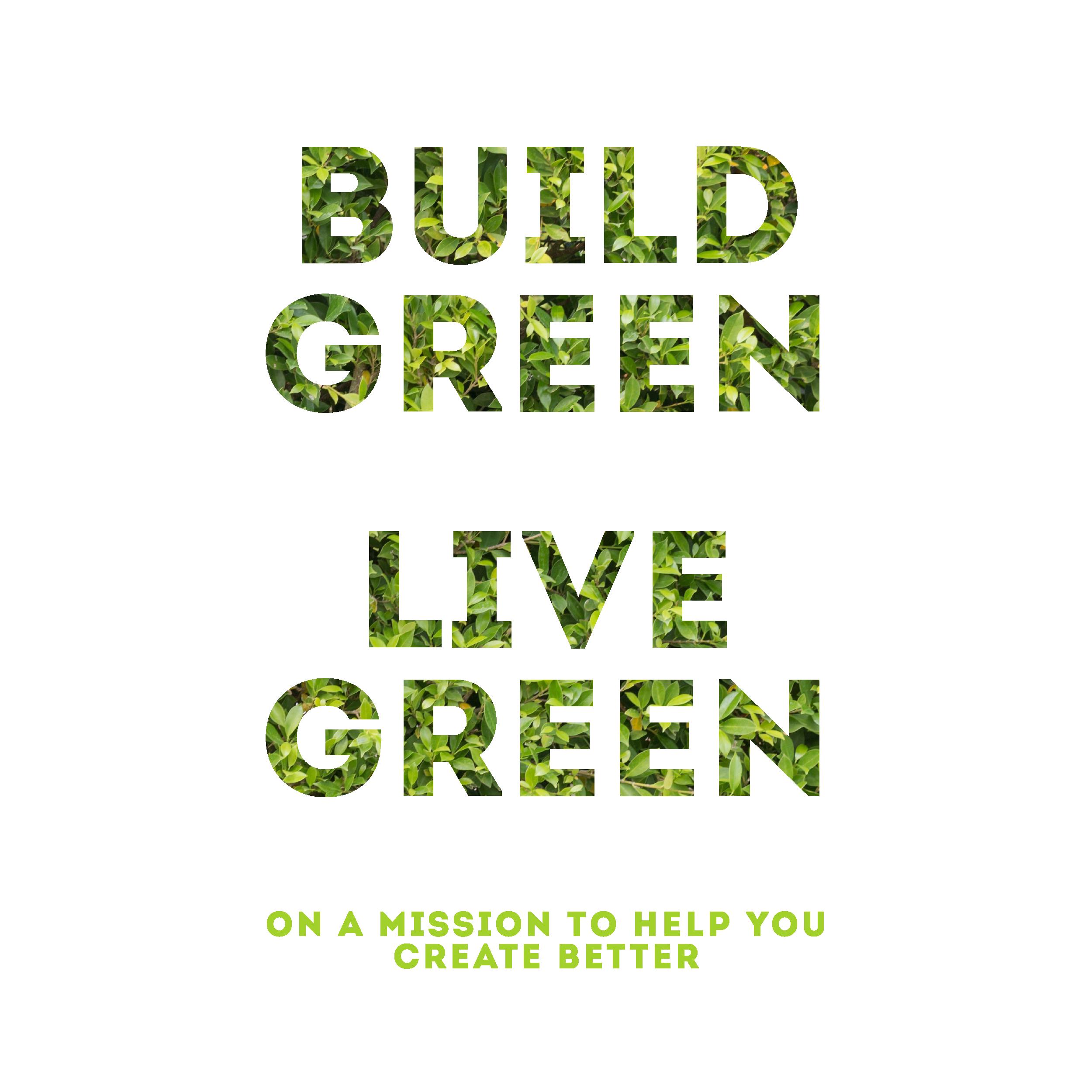 Build Green Live Green Podcast Album Cover