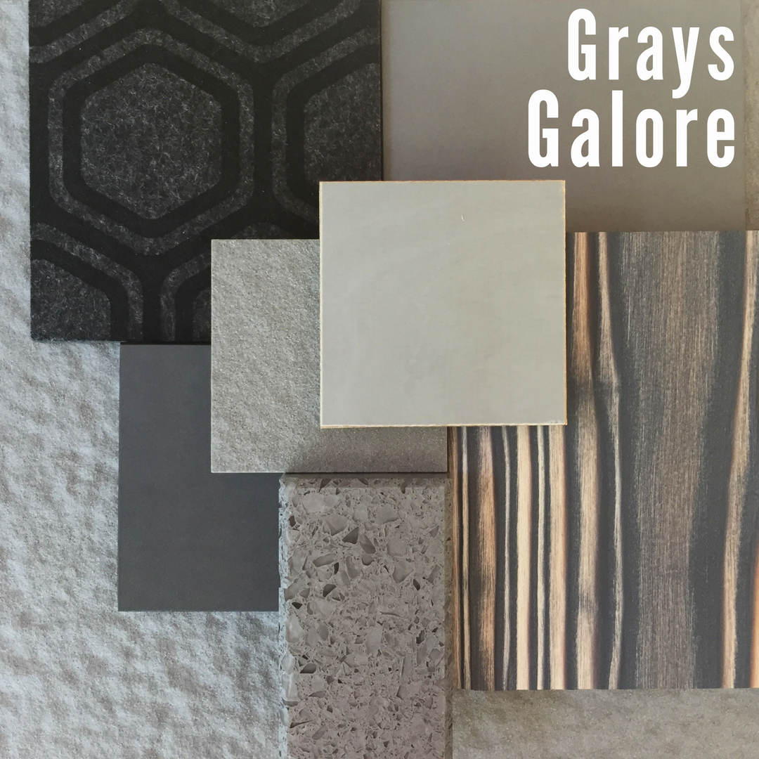 CaraGreen's July Sustainable Vignette Grays Galore