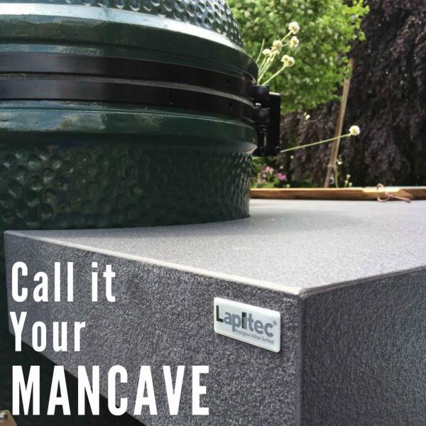 CaraGreen Sustainable Lapitec Mancave Grill