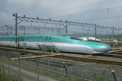 CaraGreen Japanese Bullet Train Biomimicry