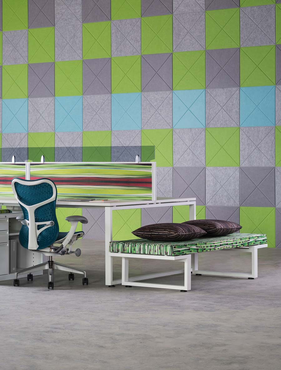 Kirei echopanel geometric tiles building for health - Available In All Colors The Vee Tile Is A Must Have For Design And Architect Firms Looking To Introduce Acoustic Treatments That Have Visual Appeal
