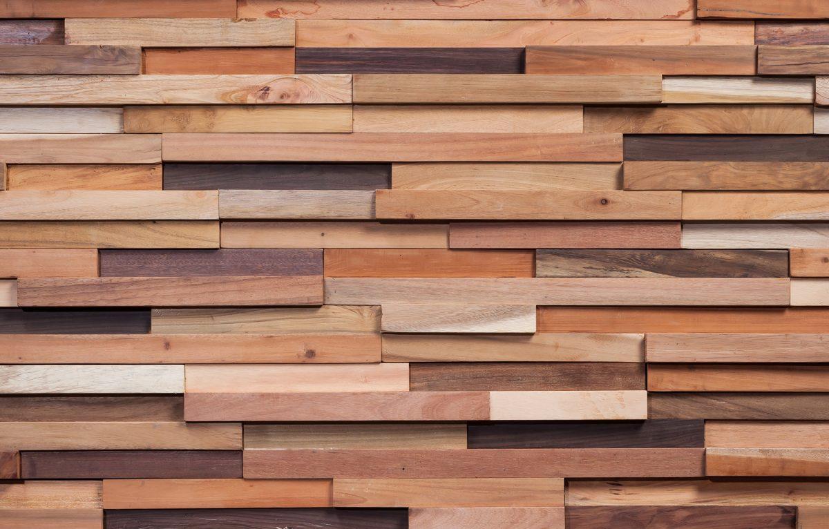Wonderwall studios reclaimed wood paneling caragreen - Revestimiento madera paredes ...