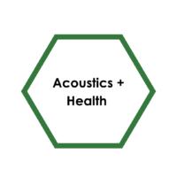 Acoustics + Health