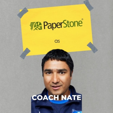 PaperStone as Coach Nate
