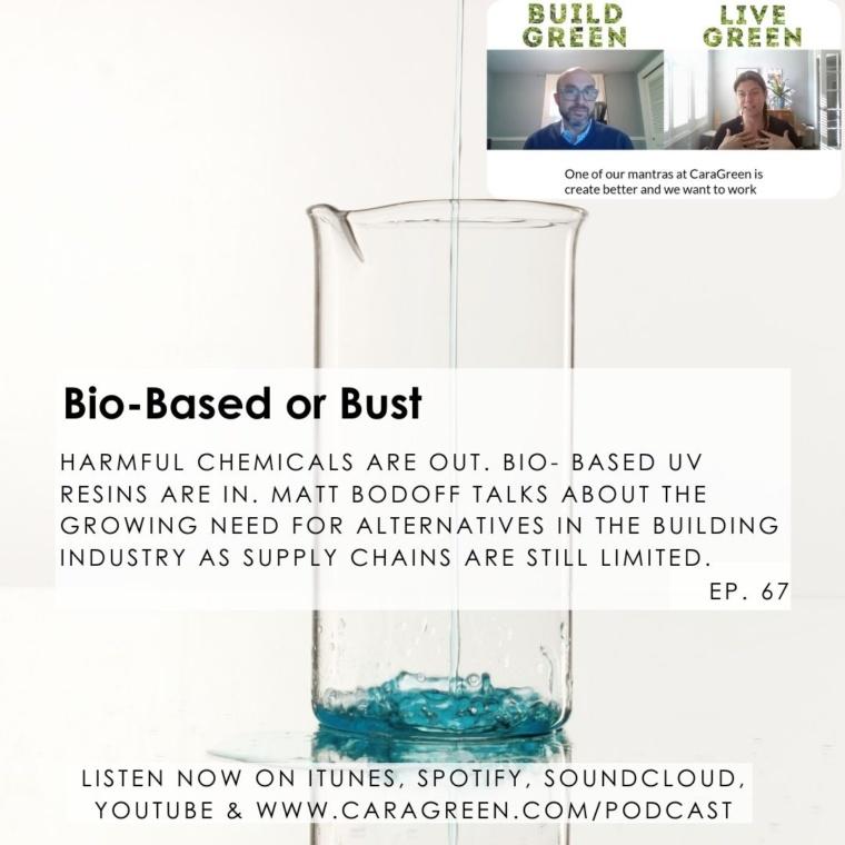 Ep. 67 Bio- Based or Bust - Matt Bodoff